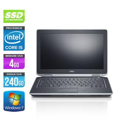 Dell Latitude E6330 - Core i5-3320M - 4Go - SSD 240Go - windows 7