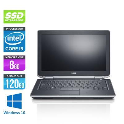 Dell Latitude E6330 - Core i5-3320M - 8Go - SSD 120Go - windows 10