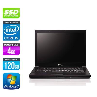 Dell Latitude E6410 -i5 520M - 4Go - 120Go SSD - Windows 7