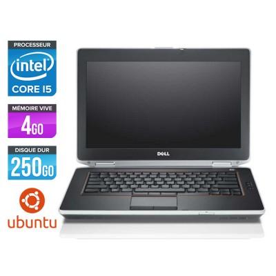 Dell Latitude E6420 - Core i5 - 4Go - 250Go - Ubuntu / Linux