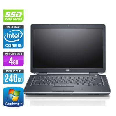 Dell Latitude E6430 - Core i5-3320M - 4Go - 240Go SSD