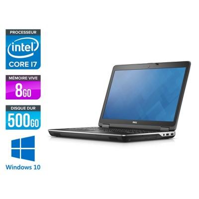 E6540 - 15.6 FHD - i7 4800MQ - 8Go - 500Go HDD - AMD Radeon HD 8790M - Windows 10 Pro