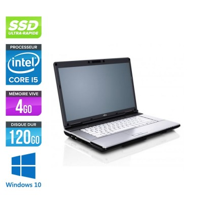 Fujitsu LifeBook S751 - i5 - 4Go - 120Go SSD - WINDOWS 10