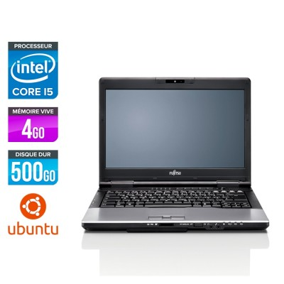 Fujitsu LifeBook S752 - i5 - 4Go - 500Go HDD - Linux