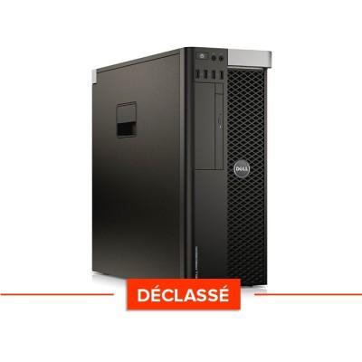 T3610 Déclassé - Xeon - 32Go - 240Go SSD + 500Go - Quadro K4000 - W10