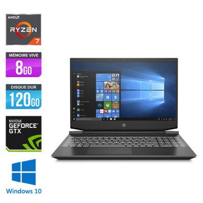 15-ec0009nf - Ryzen 7 - 8Go - 128Go SSD - 1To HDD - GTX 1650 - Windows 10