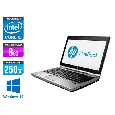 HP EliteBook 2570P - i5 - 8Go - 250Go - Windows 10