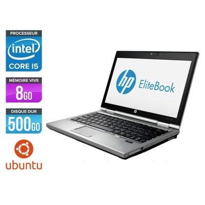 HP EliteBook 2570P - i5 - 8Go - 500Go - Linux