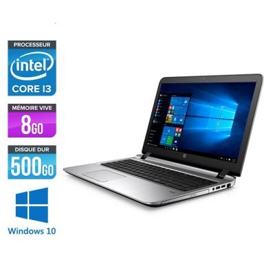 HP 450 G3 - i3 - 8Go - 500Go HDD -15.6'' - Win10