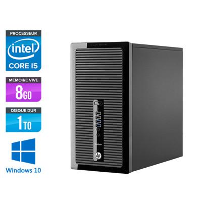 Pc de bureau reconditionné - HP ProDesk 490 G3 Tour - i5-6500 - 8Go DDR4 - 1 To HDD - Windows 10