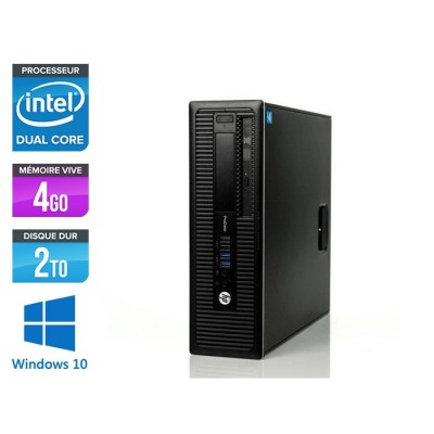 HP 600 G1 SFF - G3220 - 4Go - 2To HDD -W10