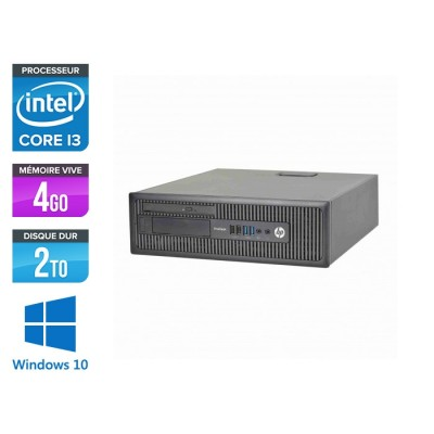HP 600 G1 SFF - i3 - 4Go - 2To HDD -W10