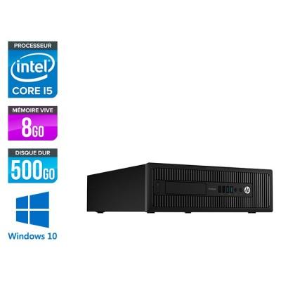 HP 600 G1 SFF - i3 - 8Go - 500 HDD -W10