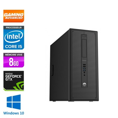 HP EliteDesk 600 G1 Tour - i5 - 8Go - 500Go HDD - GTX 1050 - Windows 10