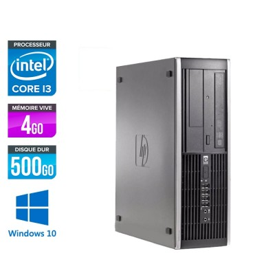 HP 6200 PRO SFF - i3 - 4Go - 500Go - Windows 10