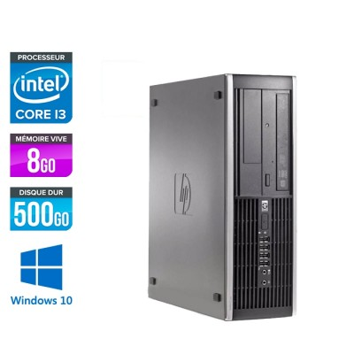 HP 6200 PRO SFF - i3 - 8Go - 500Go - Windows 10