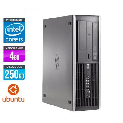 HP 6200 PRO SFF - Core i3 - 4Go - 250Go - Linux
