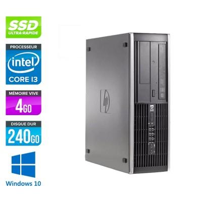HP 6300 Pro SFF - i3 - 4Go - 240Go SSD - Windows 10