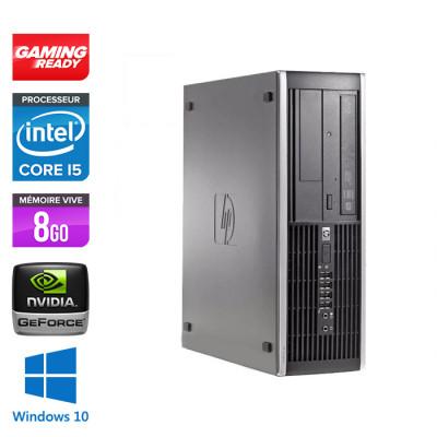 HP 6300 Pro SFF - i5 - 8 Go- 500 Go HDD - NVIDIA GeForce GT 1030 - Windows 10