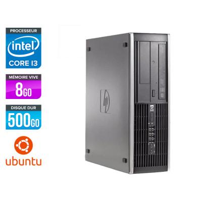 HP 6300 Pro SFF - i3 - 8 Go- 500 Go HDD - Ubuntu / Linux