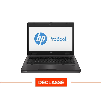 Ordinateur portable reconditionné - HP ProBook 6470B - declassé