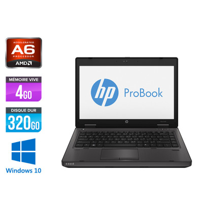 Ordinateur portable - HP ProBook 6470B - i5 - 4Go - 320 Go HDD - Windows 10