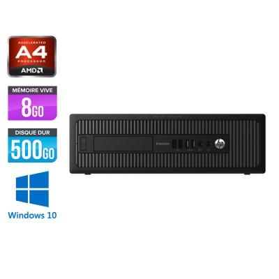 HP 705 G1 SFF - A4 - 8Go - 500Go HDD -W10