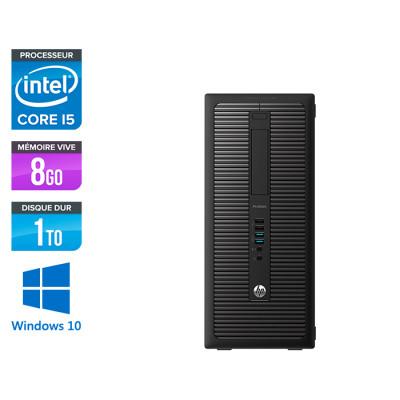 HP EliteDesk 800 G2 Tour - i5 - 8Go - 1To HDD- Windows 10