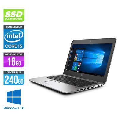 HP Elitebook 820 G4 - i5 7300U - 16Go - 240 Go SSD  - Windows 10