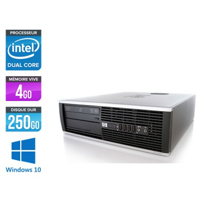 HP Elite 8200 SFF - Intel G840 - 4Go - 250Go HDD - Windows 10