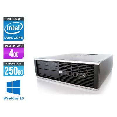 HP Elite 8200 SFF - Intel G840 - 4Go - 250Go HDD - Windows 10