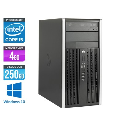 HP Elite 8200 Tour - Core i5 - 4Go RAM - 250Go - Windows 10