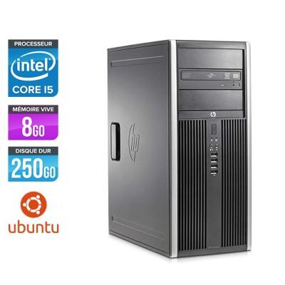 HP Elite 8200 Tour - i5 - 8Go RAM - 250Go - Linux / Ubuntu