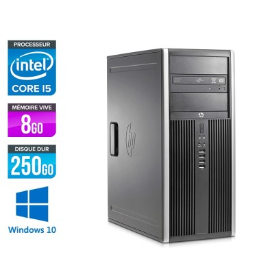 HP Elite 8200 Tour - i5 - 8Go RAM - 320Go - Windows 10