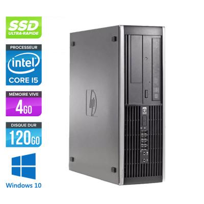 HP 6300 Pro SFF - i5 - 4 Go- 120 Go SSD - Windows 10