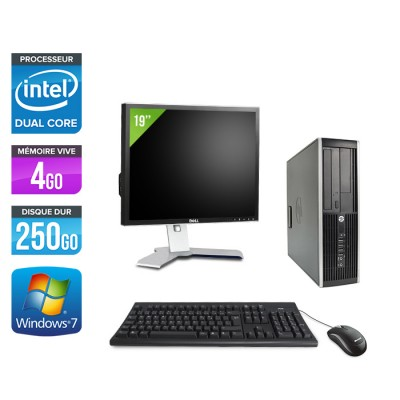 """HP Elite 8300 SFF - G870 - 4Go - 250Go + Ecran 19"""""""