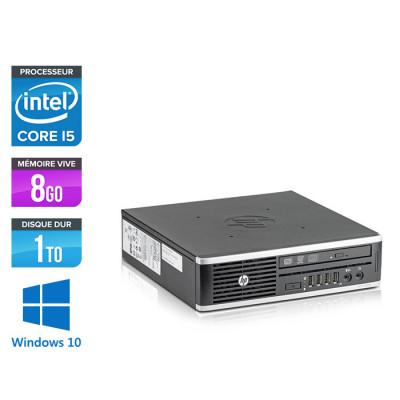 Pc de bureau reconditionné - HP Elite 8300 USDT - 8Go - 1To HDD - Windows 10