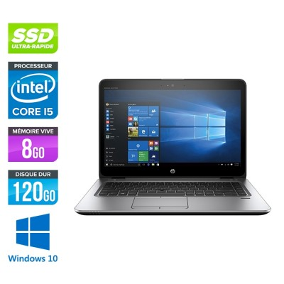HP Elitebook 840 G3 - i5 - 8Go - SSD 120Go - 14'' - Windows 10