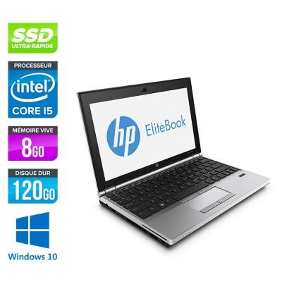 HP EliteBook 2570P - i5 - 8Go - 120Go SSD - Windows 10
