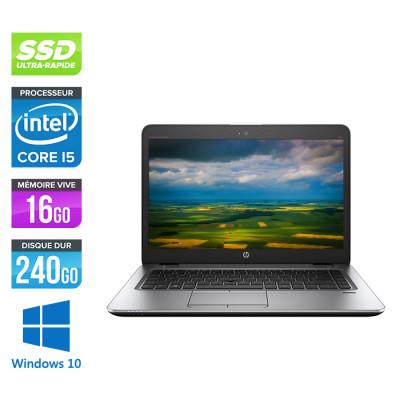 HP Elitebook 840 G2 - i5 - 16Go - SSD 240Go - 14'' - Windows 10