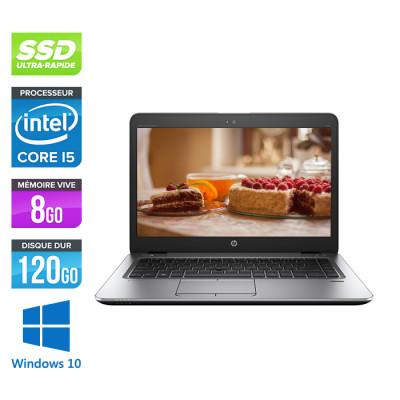 HP Elitebook 840 - i5 4200U - 8Go - 120 Go SSD - 14'' HD - Windows 10 - 2