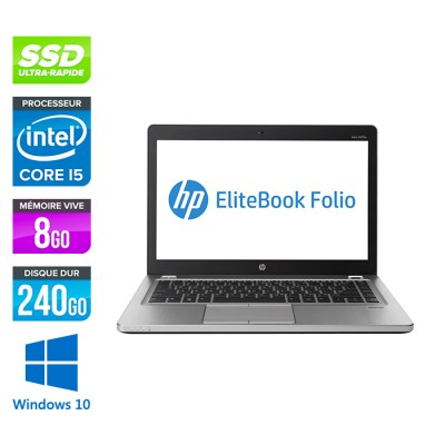 HP Folio 9470M - i5 -8Go -240Go SSD -14'' - Win 10