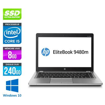 HP Folio 9480M - i5 - 8Go -240Go SSD -14'' - Win 10