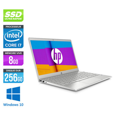 HP Pavilion Laptop 13-an1009nf - i7 - 8Go - 256Go SSD - Windows 10