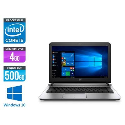 HP 430 G3 - i5 6200U - 4Go - 500Go HDD -13.3'' - W10