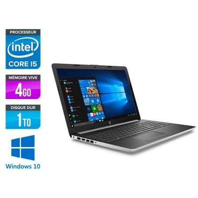HP 15-da0010nf - i5 8250U - 4Go - 1To HDD -15.6'' Full-HD - Windows 10