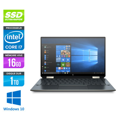 HP Spectre x360 13-aw0005nf - i7 - 16Go - 1To - Win10