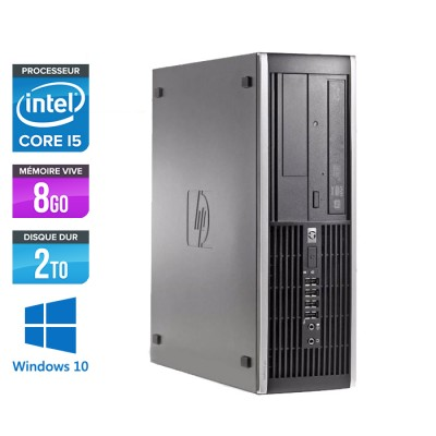 HP Elite 8200 SFF - Core i5 - 8Go - 2 to HDD - W10