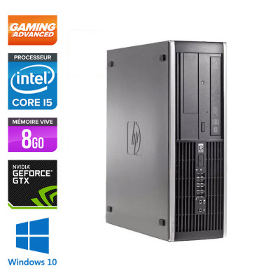 HP Elite 8200 SFF - Core i5 - 8Go - 500Go - Nvidia GTX 1050 - Windows 10