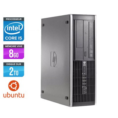 HP Elite 8200 SFF - Core i5 - 8Go - 2 to HDD - linux